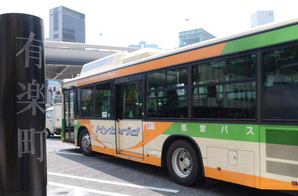 バスで快適に移動