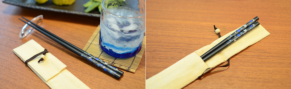 和食などのお料理にピッタリなお箸セットをプレゼント
